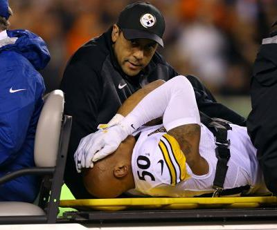Steelers' Ryan Shazier gives rehab update on teammate Roosevelt Nix's podcast