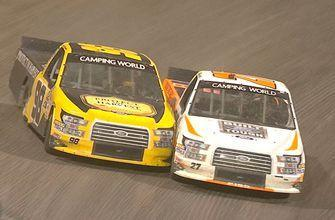 Chase Briscoe wins in a photo finish at Eldora | 2018 TRUCK SERIES | FOX NASCAR