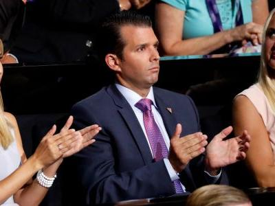 People are freaking out that Ivanka appears to be wearing white at Donald Trump, Jr.'s wedding - here's the real story