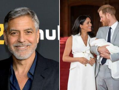 Is George Clooney Baby Archie's God Father? He Just Addressed The Royal Baby Rumors