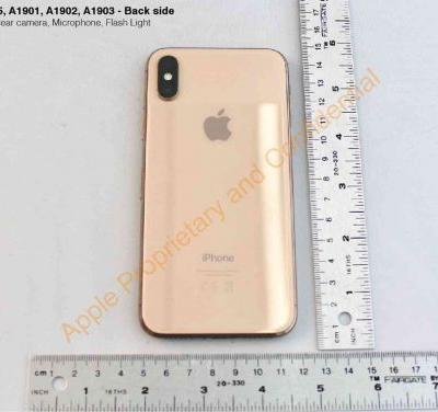Gold iPhone X leaked in FCC photos