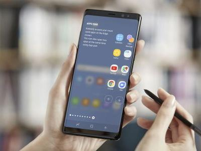 Samsung Galaxy Note 9 front panel reportedly revealed in leaked image