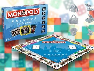Friends themed Monopoly is a thing and you can play as Ross' dinosaur