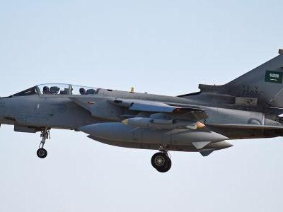 Houthi rebels say they shot down a Saudi-led coalition fighter jet over Yemen