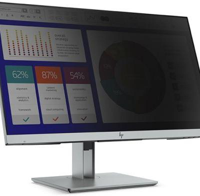 HP at CES 2019: EliteDisplay E243p with Sure View Privacy Screen Debuts