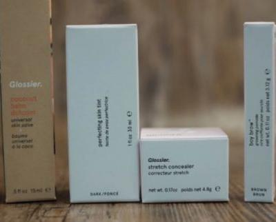 Trying out some Glossier - Skin Tint, Concealer, Boy Brow & Cloud Paint