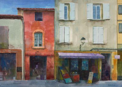 Watercolor - La Maison Rouge