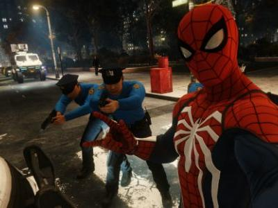 The Police In Spider Man PS4 Are Beyond Shit