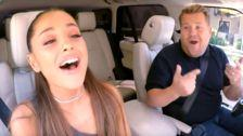 Ariana Grande's 'Carpool Karaoke' Is All About Her Flawless Celine Dion Impression