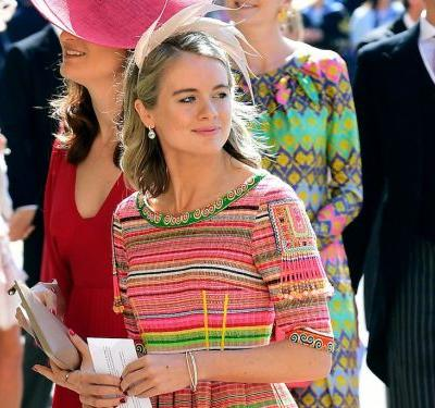 Prince Harry's ex-girlfriends were at the royal wedding, and if it was uncomfortable you wouldn't know it from their outfits