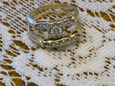 Lost and found: Woman reunited with engagement ring she thought was gone forever