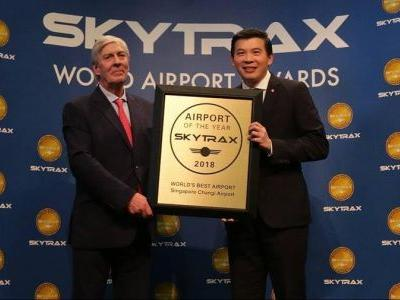 Changi Airport named 2018 World's Best Airport by Skytrax