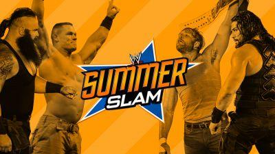 WWE SummerSlam 2017: Live blog, results, updates, match card, kickoff show
