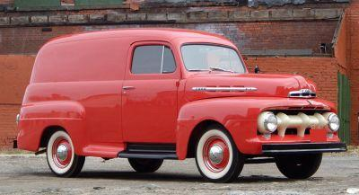 Whatever You Have To Deliver, Deliver It In This Vintage Ford Panel Van