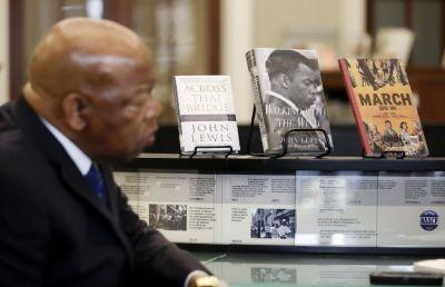 Amazon sells out of Rep. John Lewis' biography after Trump's tweets