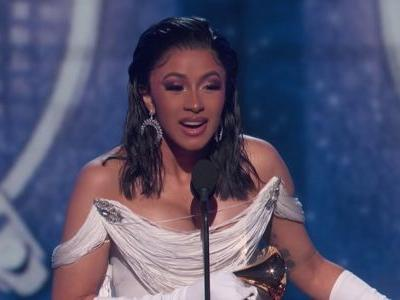 Cardi B is the first woman to ever win Best Rap Album at the Grammys