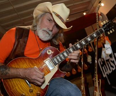 Allman Brothers guitarist in critical condition after fall