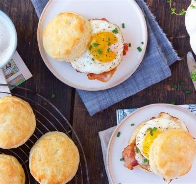 Sourdough for breakfast: Starter adds a flavorful edge to buttery biscuits