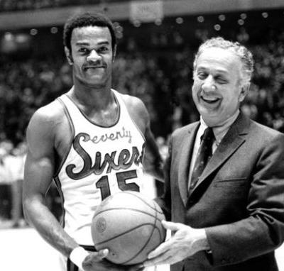 First player to have 76ers jersey number retired dies