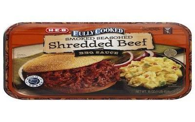 HEB shredded beef products recalled for extraneous material