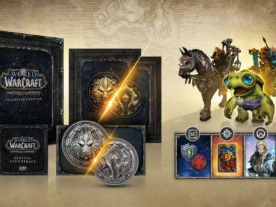 Win World of Warcraft: Battle for Azeroth Collector's Edition
