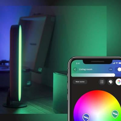 This new Philips Hue Play smart light bundle snags you a free Bridge