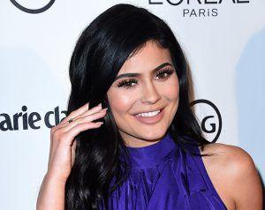 Kylie Jenner's Purple Frilly Frock Divides Opinion On Social Media