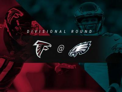 Falcons vs. Eagles: Score, live updates from divisional playoff game in Philadelphia