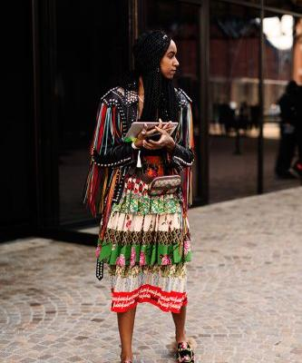 On the Street.Before Gucci, Milan