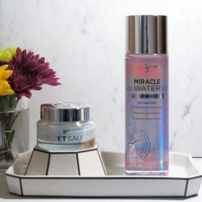 First Impressions: IT Cosmetics Miracle Water 3-in-1 Glow Tonic & Secret Sauce Moisturizer