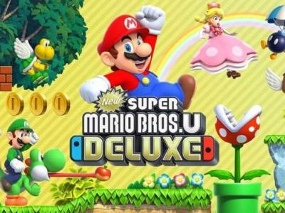 New Super Mario Bros. U Deluxe Tops UK Charts In Debut Week