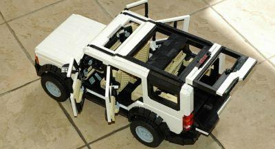 Lego Land Rover Discovery 3 Is Extremely Faithful To The Real Thing