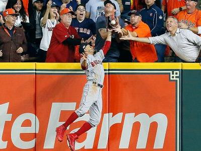 Fan interference call wipes out potential Astros home run in ALCS Game 4