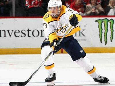Predators' Viktor Arvidsson out 6-8 weeks with broken thumb