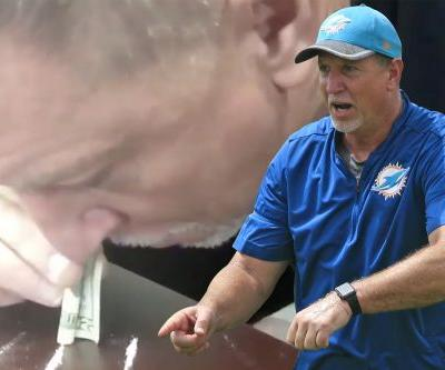 Dolphins coach resigns after damning snorting video surfaces