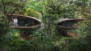 Resort with 24 seed-pod shaped treehouses to open in Mandai in 2023
