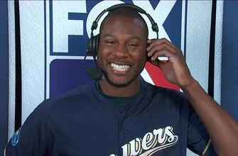 The FOX MLB crew try to recruit Lorenzo Cain to come work with them