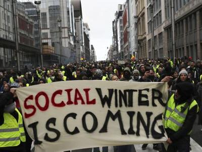 Hundreds join yellow vest rallies in Belgium, Netherlands