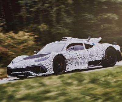 The Production Mercedes-AMG Project One Begins Testing
