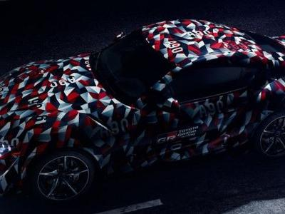 The New A90 Toyota Supra Will Make Its First Public Appearance Next Week