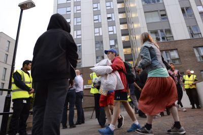 Hundreds of London high-rise homes evacuated over fire safety concerns