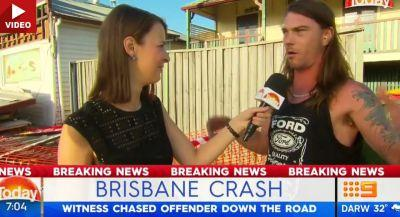 Aussie Becomes A Hero After Chasing Runaway Driver In His Underwear!