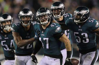 Shannon Sharpe says the Eagles were not 'particularly impressive' in MNF win over Redskins