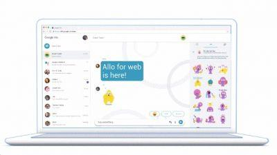 Google's Allo chat service finally arrives on the web, with a few catches
