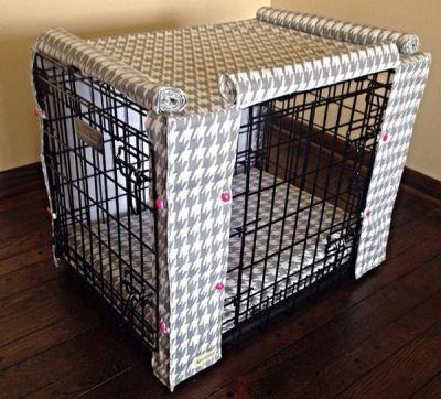 Keep Your Dog Warm and Cozy With a Custom Crate Cover