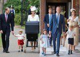 How Prince Louis's Christening Compares to Prince George's and Princess Charlotte's