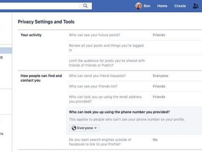 Second problem found with Facebook 2FA security: phone numbers are searchable