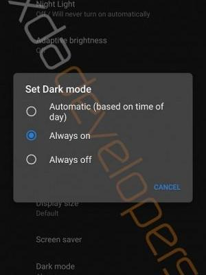 Here's Leaked Proof Android Q Comes With A System-Wide Dark Mode