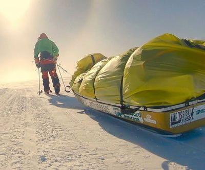 American man first to trek solo across Antarctica unaided