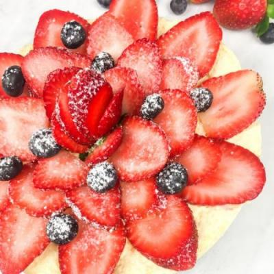 Fresh Berry Instant Pot Cheesecake